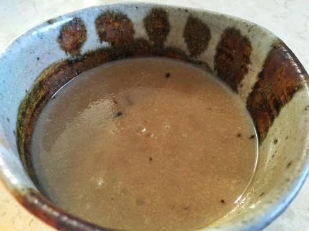 生姜、玄米パウダー入り自家製甘酒