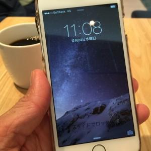 iphone6 新品交換後