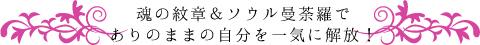 ソウル曼荼羅&魂の紋章