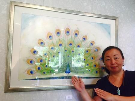 青山涼子&はせがわともみ2人展「虹やどりの森」