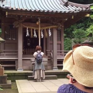 江の島の八坂神社